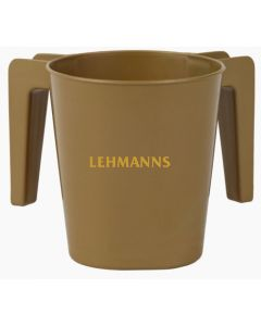 Washing Cup- Gold- Plastic