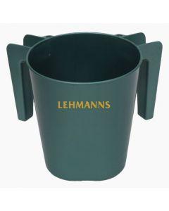 Washing Cup- Metallic Green- Plastic