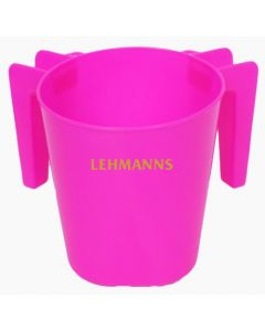 Washing Cup- Pink- Plastic