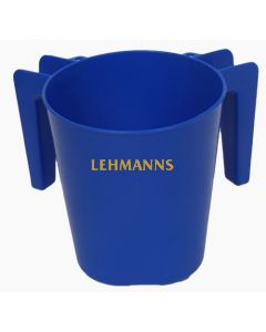 Washing Cup- Blue- Plastic
