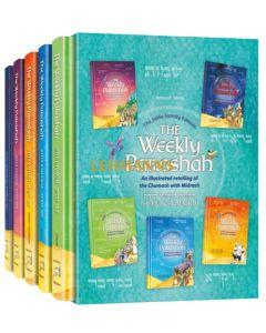The Weekly Parashah – 5 Volume Slipcase Set - Jaffa Family Edition