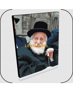 "Paint By Number Jbrush - The Skulener Rebbe/Harav Yisrael Avrohom Portugal ZT""L 16x20"