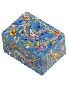 Yair Emanuel: Besamim Spice Box - Hand Painted - Oriental Design