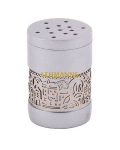 Yair Emanuel: Besamim Spice Box + Metal Cutout Jerusalem - Aluminium