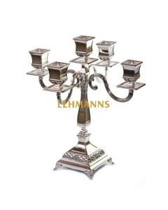 Candelabra - 5 Branches-Classic Design-Silver Plated 38cm