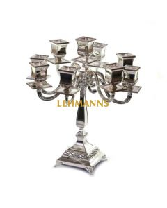 Candelabra - 7 Branches-Classic Design-Silver Plated  40cm