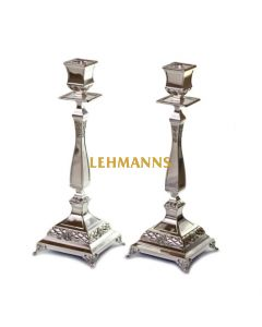 Candlesticks -Classic Design-Silver Plated  36cm