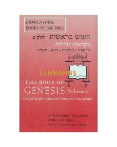 Bereishis / Genesis Vol 2 (Judaica Press Mikraos Gedolos Series)