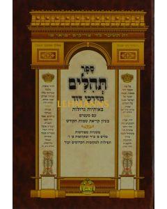 תהלים מדרכי דוד בינוני - אברמוביץ
