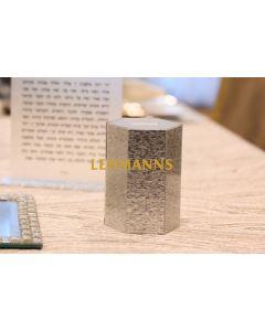 Feldart: Tzedakah Box-Acrylic