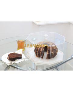 Feldart: Cake Holder - Hexagonal Dome (Gold Marble)