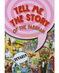 Tell me the Story of the Parshah Devarim - Regular Binding Laminated Pages