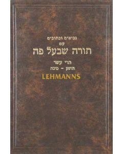 """נ""""ך עם פירוש תורה שבעל פה י""""א- תרי עשר נחום-מלאכי"""