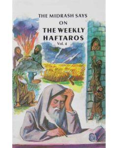 The Midrash says on The Weekly Haftaros 4 - Bamidbar