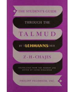 The Student's Guide through the Talmud