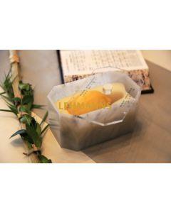 Feldart: Etrog Box-Acrylic-Grey Marble