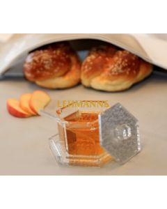 Feldart: Honey Dish -Silver Glitter-Acrylic
