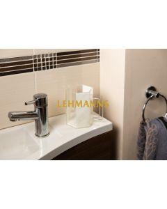 Feldart:Washing Cup -Hexagonal-Acrylic-Grey Marble