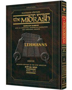 Artscroll: Kleinman Edition Midrash Rabbah Compact Size: Megillas Ruth