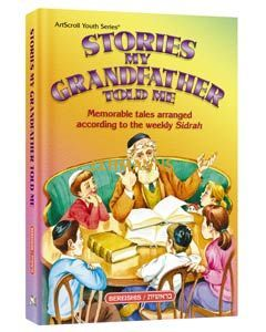 Artscroll: Stories My Grandfather Told Me - Volume 3: Vayikra by Zev Greenwald