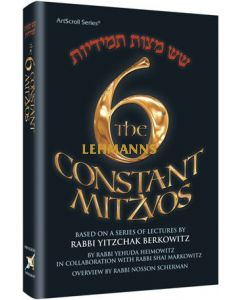 The Six Constant Mitzvos - Pocket Size Hard Cover