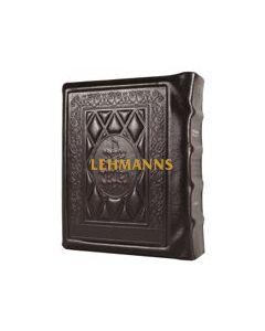 Stone Edition Chumash - Travel Size - Sefard - Yerushalayim Two-Tone Leather
