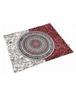 Dorit Judaica: Challah Cover-Mandala Pattern with Shabbat Verses