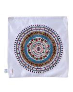 Dorit Judaica: Matzah Cover- Multicolour Mandala Pattern