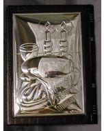 Shabbat Zemiros-Leather and Silver-Shabbat Images Design