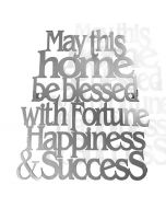 Home Blessing in English -Wall Hanging-Laser Cut-Stainless Steel